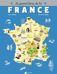 Estelle Vidard - Le grand livre de la France.