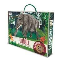 Ester Tomè et Alberto Borgo - La jungle, une biodiversité extraordinaire - L'éléphant, maquette 3D.