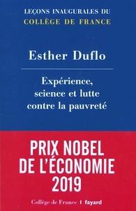 Esther Duflo - Experience, science et lutte contre la pauvreté.