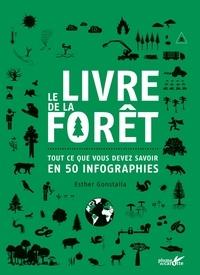 Esther Gonstalla - Le livre de la forêt - Tout ce que vous devez savoir en 50 infographies.