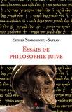 Esther Starobinski-Safran - Essais de philosophie juive.