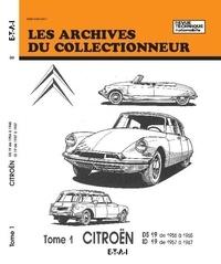 ETAI - Citroën DS 19 (56/65) - ID 19 (57/67) - Tome 1.