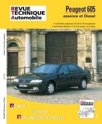 ETAI - Peugeot 605 - Moteurs 4 cylindres essence, moteurs Diesel 2.1 et 2..