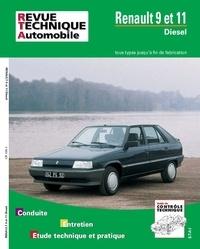 ETAI - Renault 9 et 11 Diesel - GTD, TDE, TD, Société TD, jusqu'à fin de fabrication, avec complément étude carrosserie et dossier contrôle techniqu.