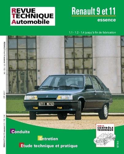 ETAI - Renault 9 et 11 - 1108, 1237 et 1397 cm3..., avec complément étude carrosserie et dossier contrôle techniqu.