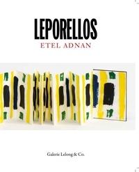 Etel Adnan et Jean Frémon - Leporellos.
