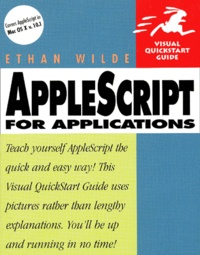 Accentsonline.fr Applescript for Applications. Visual Quickstart Guide Image