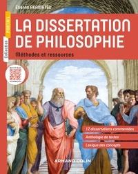 La dissertation de philosophie- Méthodes et ressources - Etienne Akamatsu pdf epub