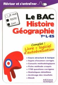 Etienne Augris et Emmanuel Caron - Je me teste sur le Bac Histoire-Géographie 1e L-ES.