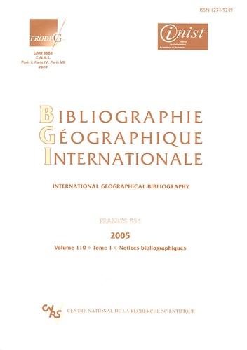 Etienne Auphan - Bibliographie Géographique Internationale Volume 110, Tomes 1 et 2 - Francis 531.
