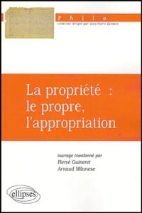 Etienne Balibar - La propriété : le propre, l'appropriation.