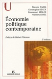 Etienne Barel et Christophe Beaux - Economie politique contemporaine.