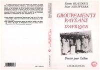 Etienne Beaudoux - Groupements paysans d'Afrique Noire.