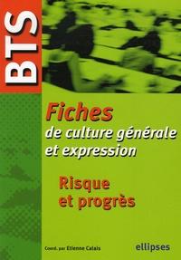 Deedr.fr Risque et progrès - Fiches BTS de culture générale et expression Image