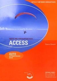 Etienne Chouard - Créer une application avec Access - Auto-apprentissage avisé.