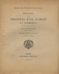 Etienne Clouzot et Maurice Prou - Pouillés des provinces d'Aix, d'Arles et d'Embrun.