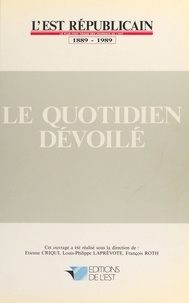Etienne Criqui - Le quotidien dévoilé.