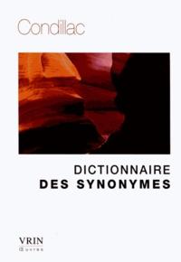 Etienne de Condillac - Dictionnaire des synonymes.