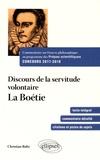 Etienne de La Boétie - Discours de la servitude volontaire, 1548.