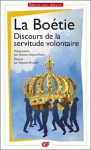 Ebooks littérature anglaise téléchargement gratuit Discours de la servitude volontaire  - Prépas scientifiques DJVU iBook RTF 9782081391536 par Etienne de La Boétie