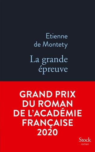 La grande épreuve GRAND PRIX ACADEMIE 2020. Grand prix du Roman de l'Académie française