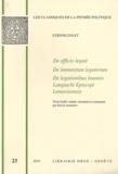 Etienne Dolet - De officio legati ; De immunitate legatorum ; De legationibus Ioannis ; Langiachi Episcopi ; Lemovicensis.