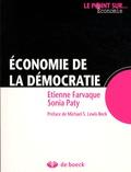 Etienne Farvaque et Sonia Paty - Economie de la démocratie.