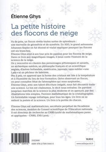 La petite histoire des flocons de neige