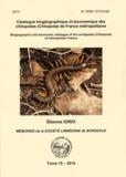 Etienne Iorio - Catalogue biogéographique et taxonomique des chilipodes (Chilopoda)de France métropolitaine.