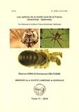 Etienne Iorio et Emmanuel Delfosse - Les opilions de la moitié nord de la France (Arachnida : Opiliones).