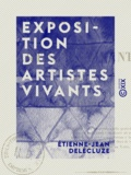 Etienne-Jean Delécluze - Exposition des artistes vivants - 1850.