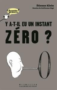 Accentsonline.fr Y a-t-il eu un instant zéro ? Image