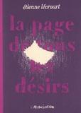 Etienne Lécroart - La page de tous les désirs.