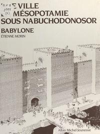 Etienne Morin et Béatrice André - Une ville en Mésopotamie sous Nabuchodonosor, Babylone.
