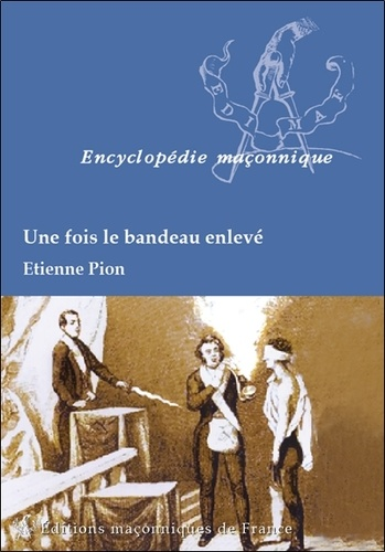 Etienne Pion - Une fois le bandeau enlevé.