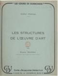 Etienne Souriau - Les structures de l'ouvre d'art.