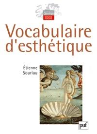 Etienne Souriau - Vocabulaire d'esthétique.