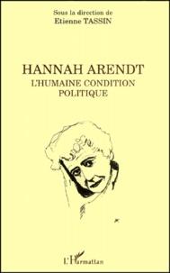Satt2018.fr Hannah Arendt. - L'humaine condition politique Image