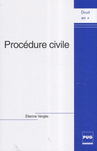 Etienne Vergès - Procédure civile.