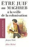 Jacques Taïeb - Etre juif au Maghreb à la veille de la colonisation.