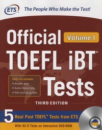 ETS - Official TOEFL iBT Tests - Volume 1. 1 Cédérom