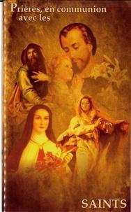 Ets Prouvost - Prières, en communion avec les saints.