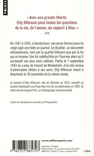Une vie bouleversée. Journal 1941-1943. Suivi de Lettres de Westerbork