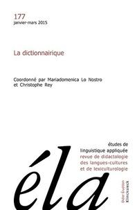 Robert Galisson - Études de linguistique appliquée - N°1/2015 - La dictionnairique.