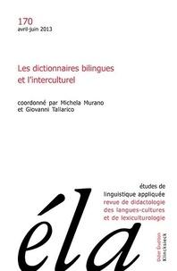 Robert Galisson - Études de linguistique appliquée - N°2/2013 - Les dictionnaires bilingues et l'interculturel.