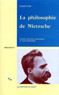 Eugen Fink - La philosophie de Nietzsche.