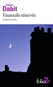 Téléchargez des livres audio italiens Fauteuils réservés et autres contes 9782072877506 (Litterature Francaise)