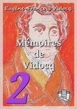 Eugène-François Vidocq - Mémoires de Vidocq - Tomes III et IV.