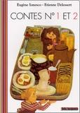 Eugène Ionesco et Etienne Delessert - Contes N° 1 et 2 pour enfants de moins de trois ans.