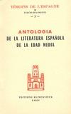 Eugène Kohler - Antologia de la literatura española de la Edad Media (1140-1500).